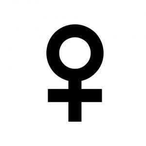 symbol płci żeńskiej
