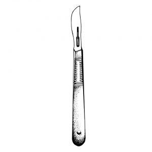 nóż chirurgiczny