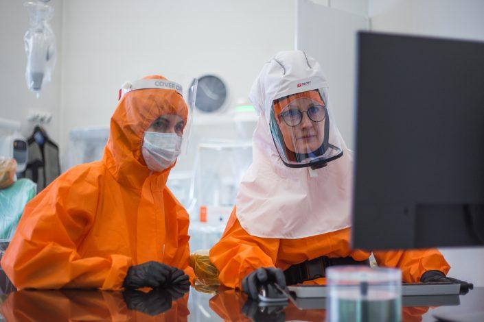wizyta podczas pandemii