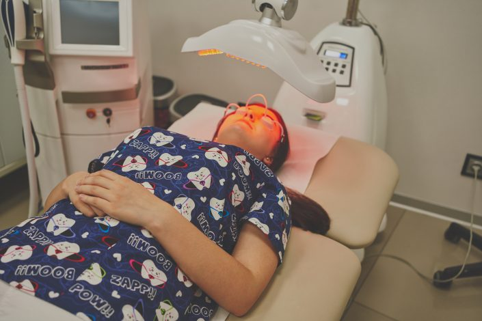 bezpieczny zabieg laserowy