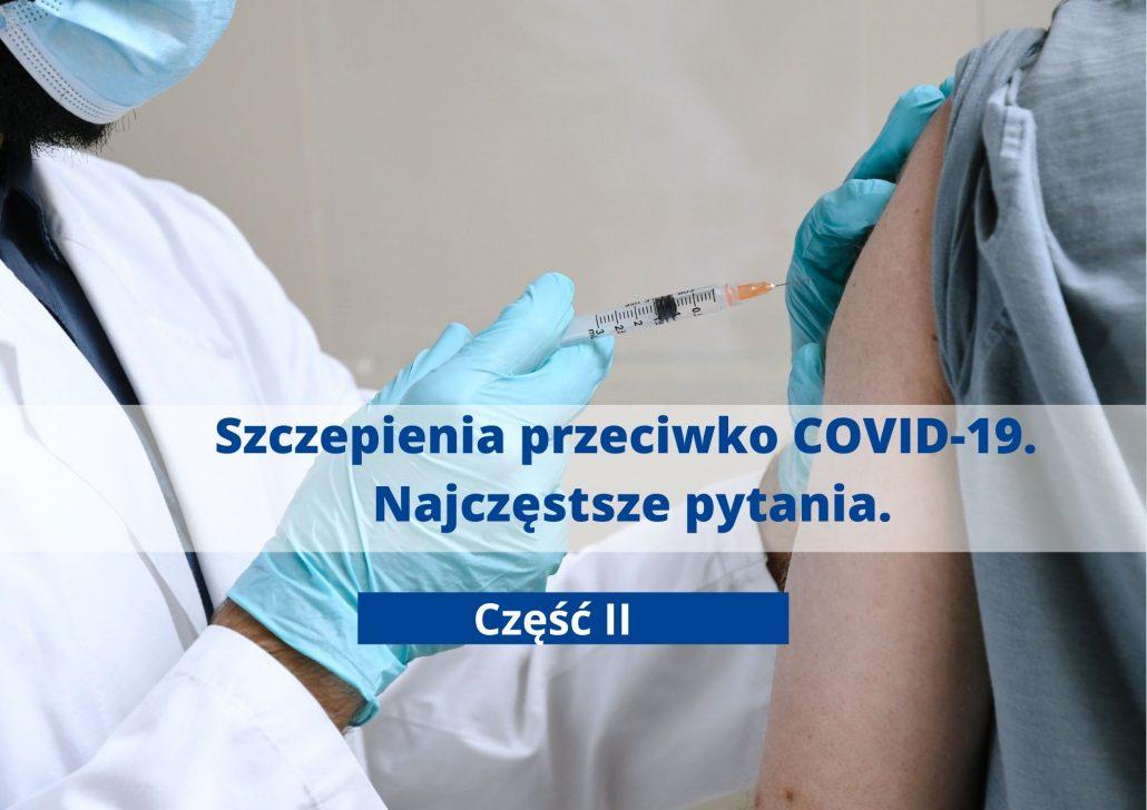 Szczepionki COVID-19 - pytania i odpowiedzi